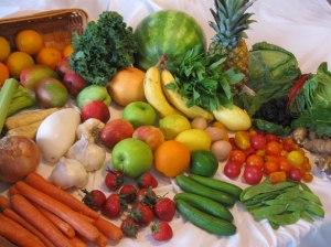 Légumes frais par Mary LaFrance40 jours sans viande, ni poisson
