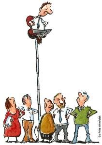 """L'une sur la plus haute chaise par Frits Ahlefeldt""""Pourquoi lui et pas moi ?"""""""