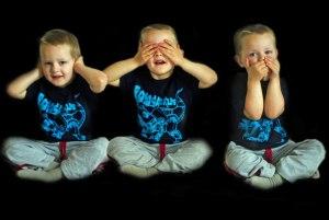 Ne rien voir, ne rien entendre et ne rien dire : les trois petits singes modernes