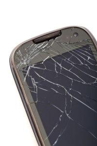 Téléphone cellulaire brisé par Petr Kratochvil