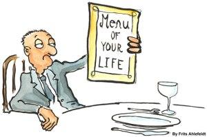 Menu de la vie par Frits Ahlefeldt Un choix évident ?