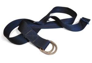 Bleu Nylon Belt par Adrian Paulino