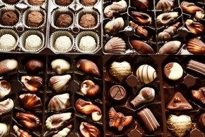 Boite de chocolat par Petr Kratochvil