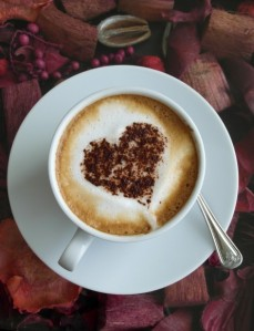 Café Art de coeur par Ian L Coup de coeur Pep's café !