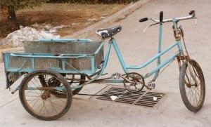 Tricycle utilitaire par Scott Meltzer Les dérives de la pédagogie, à visée de plus en plus utilitaire
