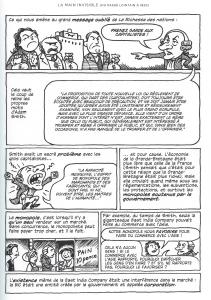 """Le grand message oublié d'Adam SMITH. """"Economix"""" de M. GOODWIN et D.E. BURR, ed. Les Arènes, 2013 p29"""