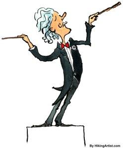"""Qui sera notre """"chef d'orchestre"""", pour que notre vie soit """"harmonieuse"""" ?"""
