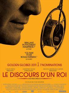 Le discours d'un roi, film britannique de Tom Hooper(2010), avec Colin Firth et Geoffrey Rush