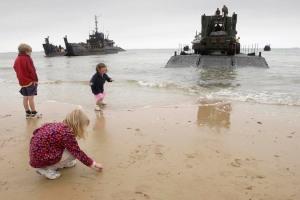 """La commémoration des 70 ans du """"D-Day""""  : ne pas oublier les plus petits !"""