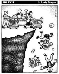 La religion de la consommation : où cela nous mène-t-il ? Par Andy Singer