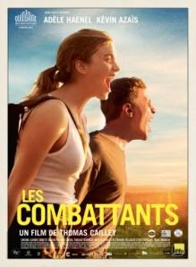 """""""Les combattants"""" : Arnaud(Kevin Azaïs ) et Madeleine (Adèle Haenel), dans un film de Thomas Cailley(2014). Trouveront-ils au nom de quoi ou de qui """"combattre"""" ?"""
