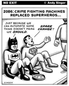 """La machine fait mieux que l'humain, et même le """"super-humain"""" ! Par Andy Singer"""