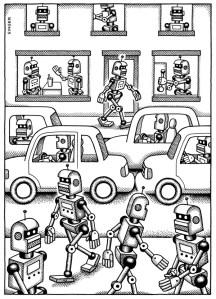 Un monde de robots, par Andy Singer