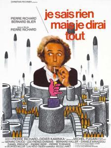 """""""Je sais mais je dirai tout"""" : d'abord un film de et avec Pierre Richard(1973). Aujourd'hui, il semble que ce soit un nouveau crédo..."""