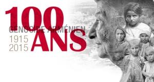 Les 100 ans du génocide arménien, le 24 avril 2015 à Paris