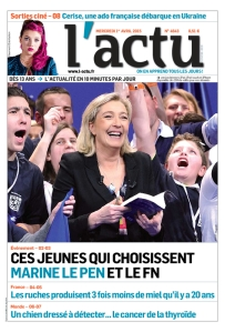 """Comment """"expliquer le FN"""" aux jeunes, par L'Actu"""
