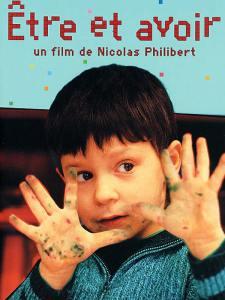 """""""Venez comme vous êtes""""... à Jésus ! (ce n'est pas une chaîne de fast-food qui l'a inventé !) Affiche du film """"Etre et avoir"""" de Nicolas Philibert(2002)"""
