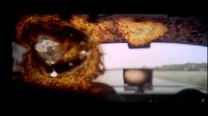 """""""La fin du film(de la vie)"""" Scène de """"Macadam à deux voies""""(1971)de Monte Hellman."""