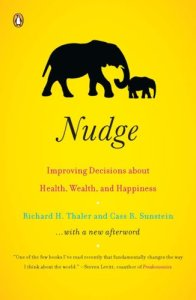 """Nudge"", de Richard H. Thaler et Cass R. Sunstein"