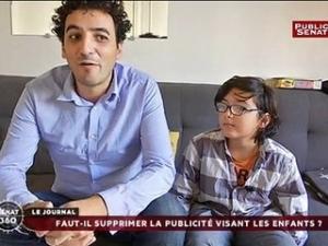 Faut-il supprimer la pub pour enfants ? Reportage de Mounir Soussi, sur Public Sénat