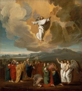 Ascension de Jésus, par John Singleton Copley (1775)