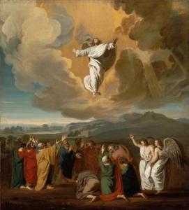 Ascension de Jésus, par John Singleton Copley (1775)