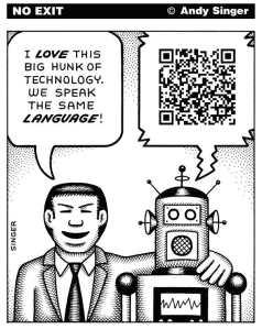 Humain et robot : même langage ? Par Andy Singer